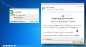 Aplicación de reglas y políticas de administración en PaperCut