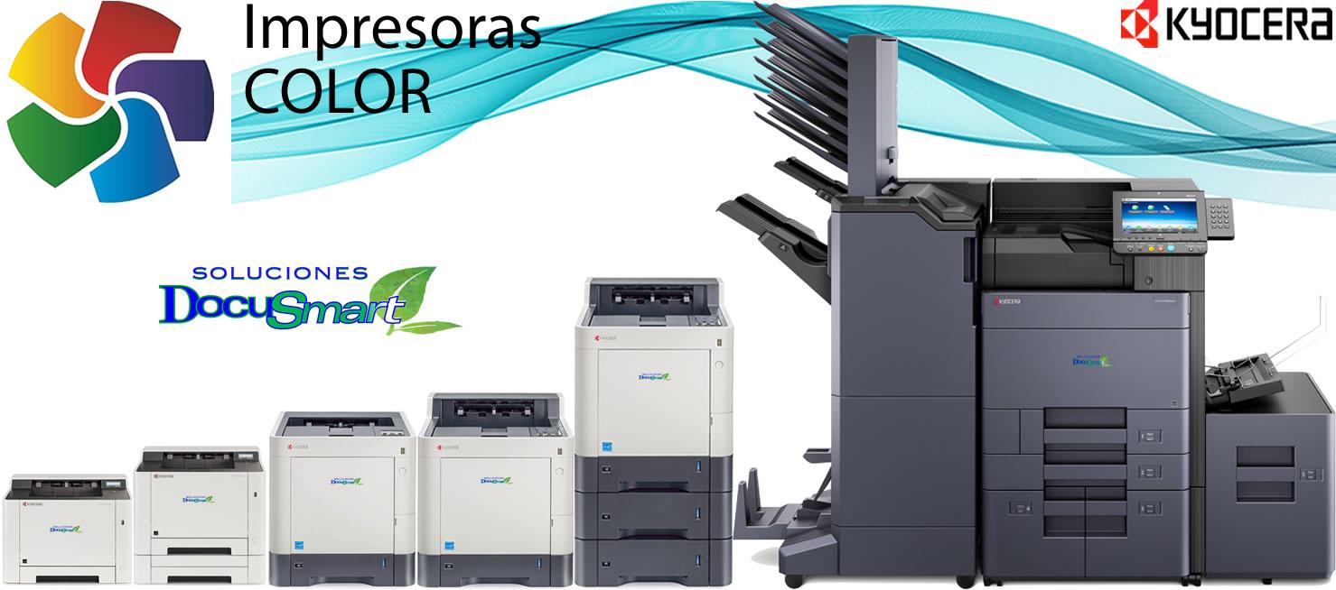 Impresoras Kyocera a Color