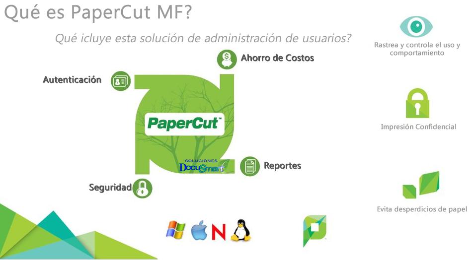 Características de PaperCut MF